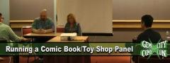 Running a Comic Book Shop Panel